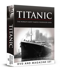 Titanic DVD & Book Set