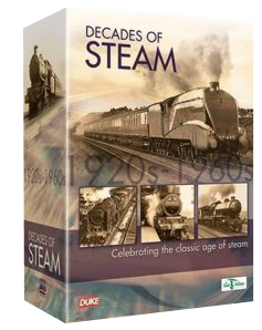 Decades Of Steam (5 DVDs)