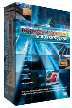 Railway Diaries Across England (3 DVDs)