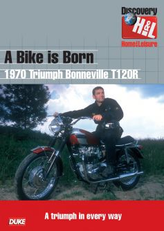 A Bike Is Born: 1970 Triumph Bonneville T120R20