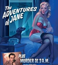 The Adventures Of Jane/Murder At 3am (Cert PG)