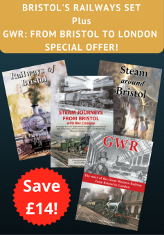 Bristol's Railways plus 'GWR' - Special Offer (4 DVDs)