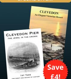 'Clevedon: Elegant Victorian Resort' and 'Clevedon Pier' - Special Offer (2 DVDs)