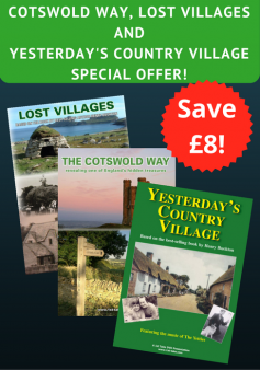 'Cotswold Way', 'Yesterday's Country Village' and 'Lost Villages' - Special Offer (3 DVDs)