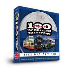 100 Years of British Transport Gift Tin (5 DVDs)