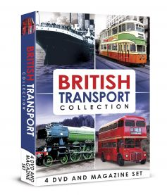 British Transport Collection DVD & Book Set (4 DVDs)