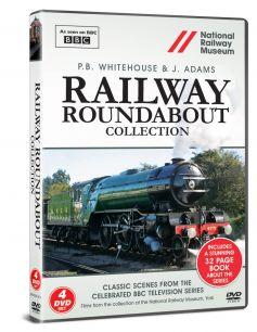Railway Roundabout DVD & Book Set (4 DVDs)