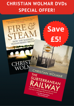 'Fire & Steam' and 'The Subterranean Railway' - Special Offer (2 DVDs)
