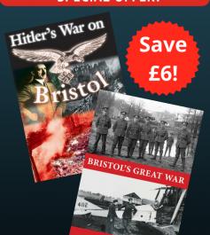 'Hitler's War on Bristol' and 'Bristol's Great War' (2 DVDs)