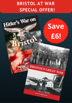 'Hitler's War on Bristol' and 'Bristol's Great War' (2 DVDs)