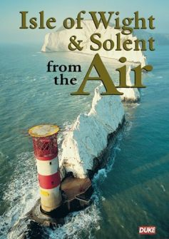 Isle of Wight and Solent From The Air