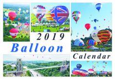 Bristol Hot Air Balloon 2019 Calendar