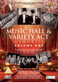 Music Hall & Variety Act Memories: Volume 1 (3 DVDs)