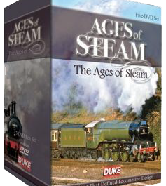 Ages Of Steam (5 DVDs)