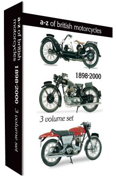 A-Z Of British Motorcycles (3 DVDs)