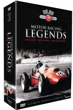 Motor Racing Legends: Hawthorn, Walker and Clark (3-Disc set)