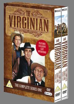 The Virginian: Complete Series 1 (11 DVDs, Cert PG)